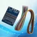 Célula de Lítio 20A 18650 Proteção Da Bateria Li-ion BMS PCB Placa de Equilíbrio 13 S 48 V