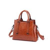 Echtes Leder Taschen Tote Geldbörse Handtasche Frauen Messenger Schulter Top Griff Vintage KLASSISCHE bolsa feminina taschen T63