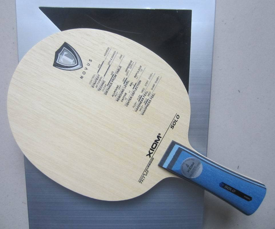 Original XIom SOLO table tennis blade pure wood racquet sports indoor sports xiom table tennis rackets