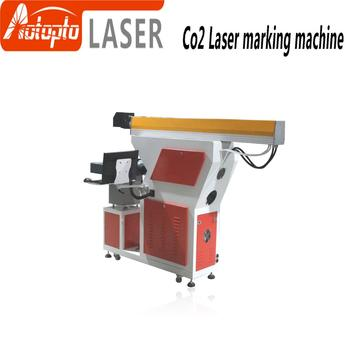 Factory price Reci co2 laser tube 80W 100W marking machine for wood plasric leather board