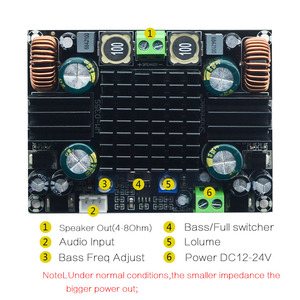 Image 5 - CIRMECH TPA3116 High power Car Audio Amplifier Board Mono 150W TPA3116D2 Amplifier Built Double Booster System Amplifier