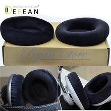 Defean Velour Velvet ear pad แผ่นรองหูฟังโฟม disk สำหรับ AKG K701 K702 Q701 Q702 K601 k612 k712 pro หูฟัง