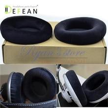 Defean almohadillas de terciopelo para los oídos, almohadillas de espuma para AKG K701 K702 Q701 Q702 K601 k612 k712 pro, auriculares