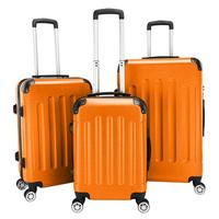 Suitcase Rolling Hand Luggage 4 Wheels Spinner Trolley Case Carry On Travel Bag Hardside ABS Trolley Case Quick Delivery