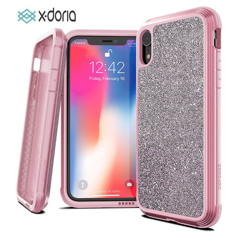 sneakers for cheap 1c03b 1ef81 US $34.95 |X Doria Defense Lux Case For iPhone X XR XS Max Military Grade  Drop Tested Phone Case Coque For iPhone XR XS Max Aluminum Cover-in Fitted  ...