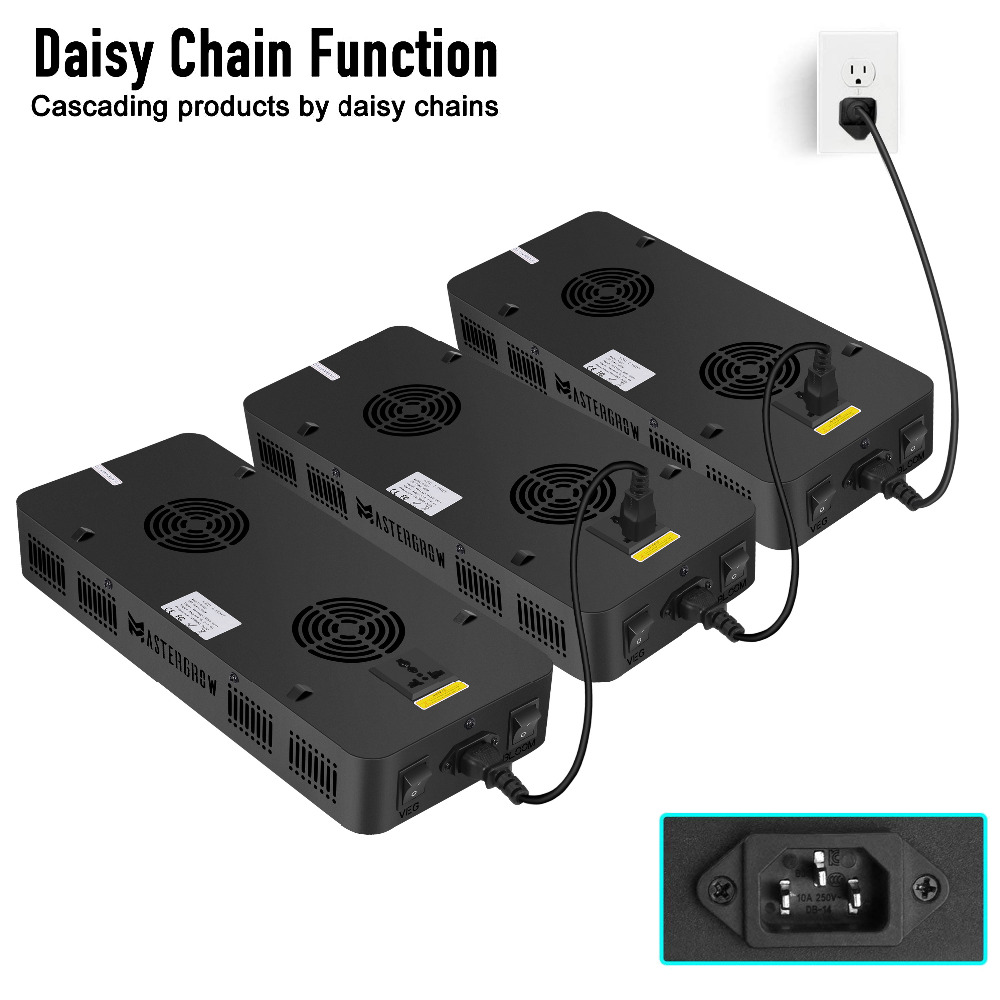 Image 4 - Double Switch 600W 900W 1200W Full Spectrum LED grow light with Veg/Bloom modes for Indoor Greenhouse grow tent plants grow led-in LED Grow Lights from Lights & Lighting