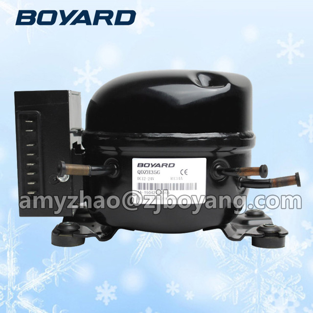 Zhejiang boyard r134a dc 12 v 24 v bldc kühlschrank kompressor ...