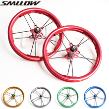 Kids Balance Bike Colorful Aluminum Alloy Wheelset  12inches 85-95MM children's slidesliding bicycle wheel hub carbon fiber 12inch baby balance bike with hand brake high carbon steel frame and eva solid wheel kids bike 85 100cm adjust balance bike