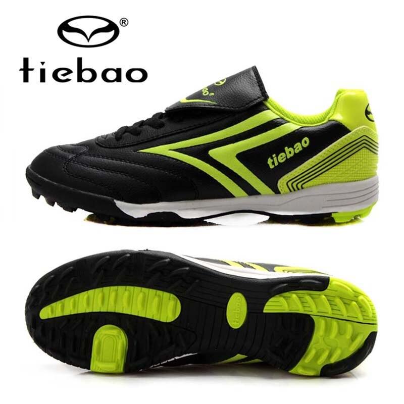 TIEBAO Brand Professional Chuteira Futebol Soccer Shoes Sports Soccer Cleats Men Women TF Turf Soles Football Boots Sneakers