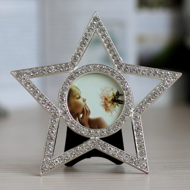 Mini star shaped photo frame-in Frame from Home & Garden on ...