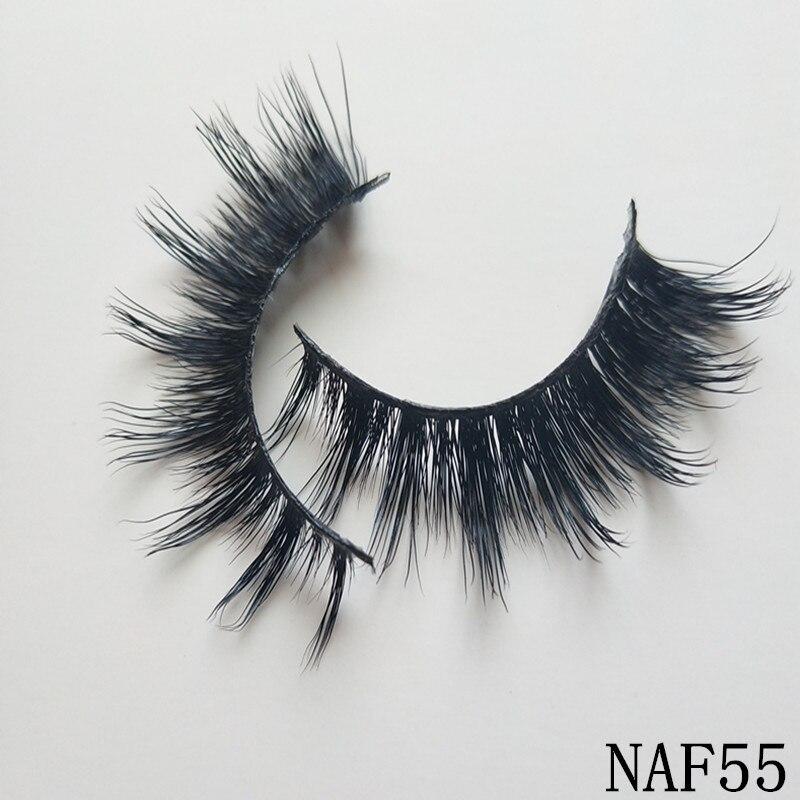 UPS Free Shipping 300pairs 2019 New Mink lashes wholesale 100% Real Fake False Eyelashes fashion Eyelash Extensions eyelashes-in False Eyelashes from Beauty & Health    1