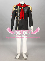High Quality Custom Made Trey Cosplay Costume from Final Fantasy Type 0 Plus Size (S 6XL)