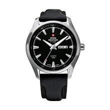 Наручные часы Swiss Military SM34027.05 мужские кварцевые на кожаном ремешке