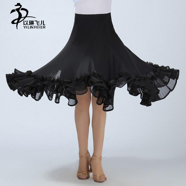 Профессиональный Костюмы для бальных танцев цветочный танец живота платье танцевальная юбка/Костюмы для бальных танцев Танцы Юбки для женщин
