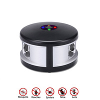 AC220V US Plug Ultrasonic Mouse Mosquitoes Pest Control Repellent with Anion Air Purification 360 Degree Rotate TB Sale
