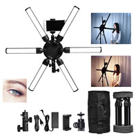FOSOTO TL 900S plus Photographic lighting 3200 5600K 60W Multimedia Extreme Star Light Lamp Camera Phone Video led Ring Light