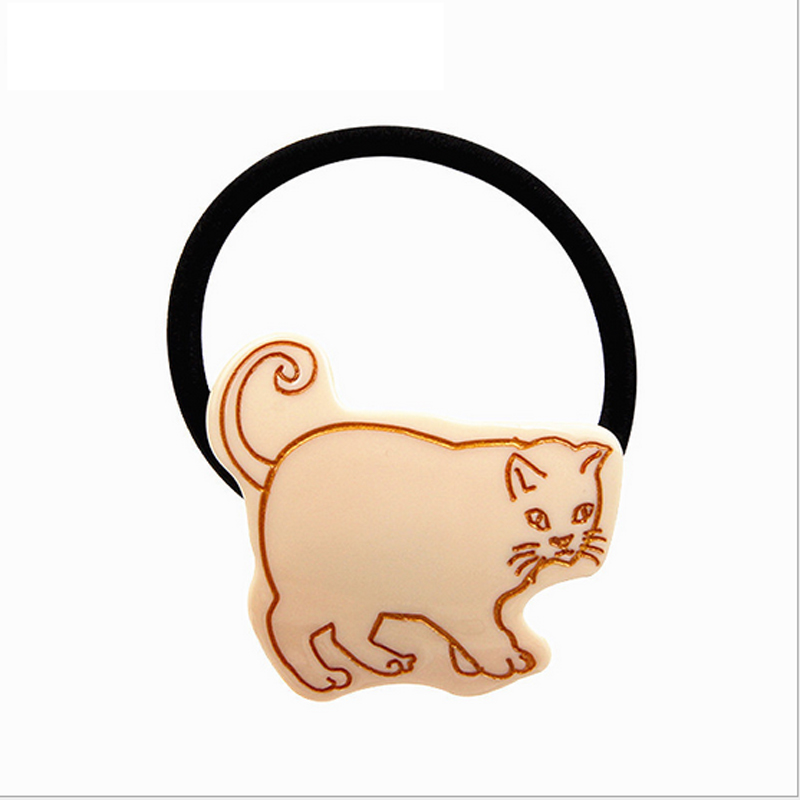 High Quality cat shape Elastic headbands for women Hair Band hair rope bijoux de tete Hairbands girl rubber bands accessories