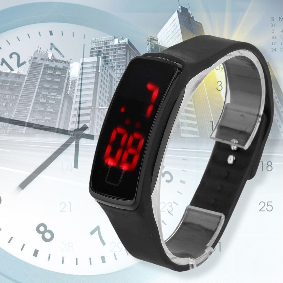 Super Lightweight LED Touch Sport Running Soft Silicone