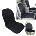 New Universal Car interior Thickening Heated Car Cushion Seat Quilted Nylon Car Auto 12V Heater Heated Cushion Warmer Seat Cover