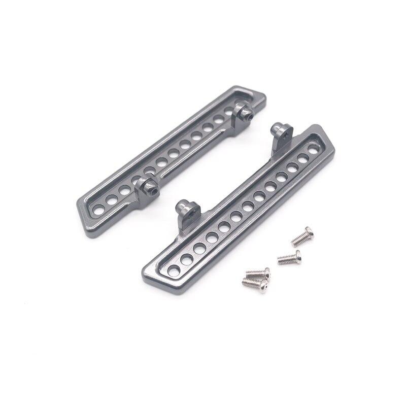 PEÇAS de Upgrade de Metal Pedal Para WPL 2 C14/C24 JJRC B14/B24 Com Parafusos RC Caminhão RC Carro partes