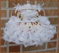 Saint Valentine's DayBJD YOSD rose lace dress skirt 1/6 baby girl clothing