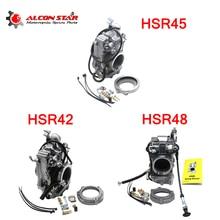 Alconstar Mikuni Standard Finish Carburetor HSR42/45/48 42mm 45mm 48mm Flatslide Carb For Harley FLH Sportster Dyna Softail недорого