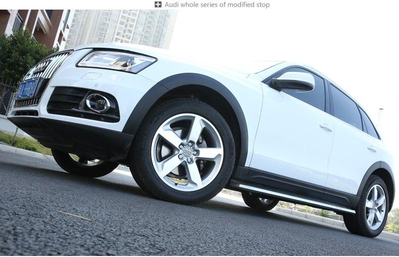 Nero grigio Passaruota Fender Flare Prolunga Kit Protector For Audi Q5 2010 2011 2012 2013 2014 2015 2016 2017 декор lord vanity quinta mirabilia grigio 20x56