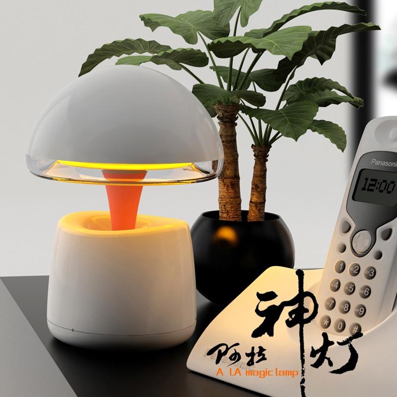 3 in 1 Remote Control A LA Magic LED Light Lamp + Wireless Bluetooth Speaker Stereo Music FM Radio Intelligent Alarm Clock crystalsoul wireless bluetooth speaker with rhythm colorful light alarm clock radio tf card player remote control lamp subwoofer