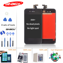 цены Sinbeda AAA+ LCD For iPhone 4 LCD 4s LCD Display Touch Screen Digitizer Assembly for iPhone 4s LCD Pantalla for iphone4 4s Tela