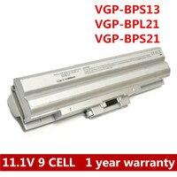 7800mAh 9 Cell Laptop Battery For Sony VGP BPS21 S VGP BPS21A B VGP BPL21 VGP