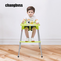 Free Shipping Healthy Care Baby Chair Baby High Chair Infant Feeding Chair Simple Portable Travel Carry