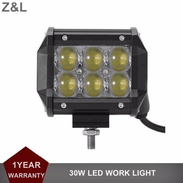 30W LED Work Light bar Offroad Driving Fog Lamp Car Motorcycle SUV ATV 4WD 4X4 UTE Auto AWD Wagon Pickup Van Camper Headlight 12