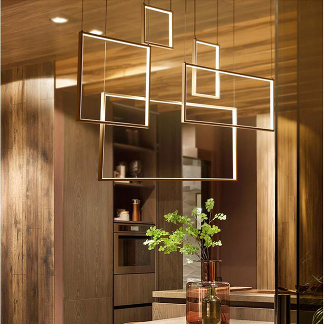 0freedom Bar Led Pendant Lamp For Lights Dinning Diy Fromamp; Creative Acrylic Room Us276 Living Hanging In XPkiZOu
