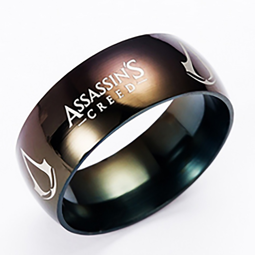Size 6~13 Titanium Steel Assassins Creed Ring Assassins