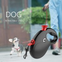 Retractable Dog Leash Rope Anti Slip Handle 196in Strong Tape Automatic Dog Belt for Small Medium Dog Outdoor Walking Exercise