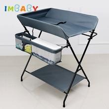 IMBABY пеленальный столик для новорожденных пеленальные столы складной Пеленальный стол для младенцев Пеленальный стол для детей от 0 до 24 месяцев