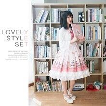 Sweet Lolita Victorian Dress Sleeveless Renaissance Style Skirt Girl Halloween Costumes For Women Fashion Maid Tea Party Cosplay