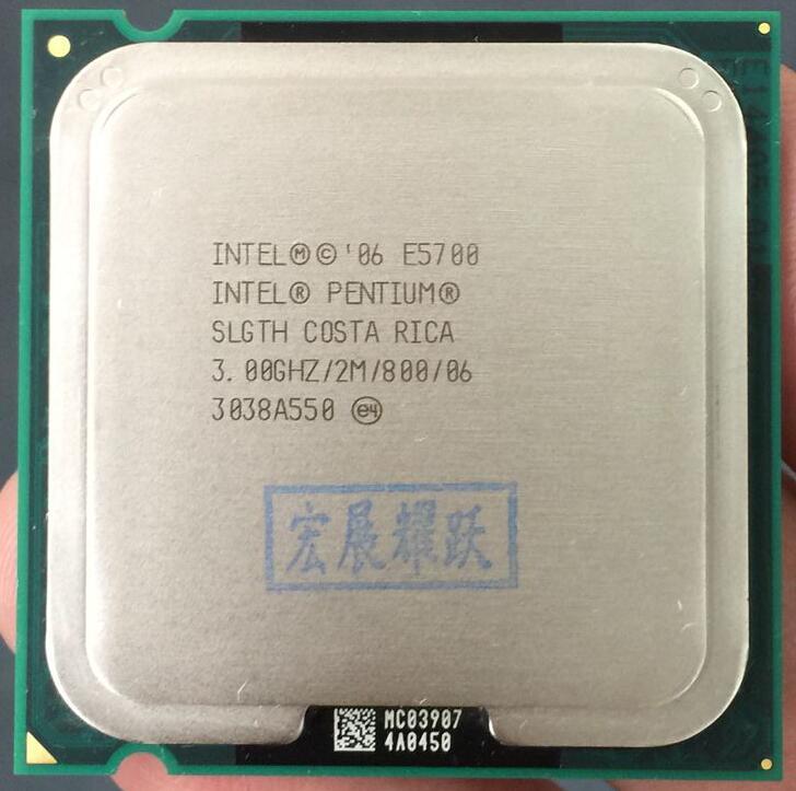 PC Computer Intel  Pentium  Processor E5700   Dual-Core  CPU LGA 775  100% Working Properly Desktop Processor