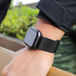 Image 5 - HOCO Milanese Loop for Apple Watch 5 4 3 2 1 Band 44mm 40mm 38mm iWatch Series 5 4 Stainless Steel Strap Belt Women Men Bracelet