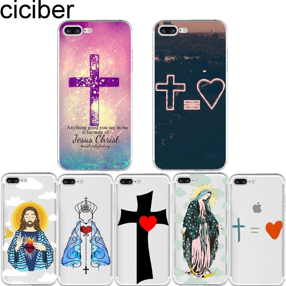 coque iphone 7 plus jesus