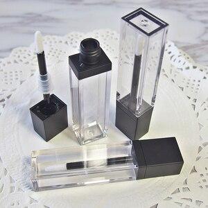 Image 5 - Lápiz labial vacío líquido para maquillaje, tubo de brillo de labios transparente de alta calidad, envase de embalaje, 20 unids/lote, 7ml