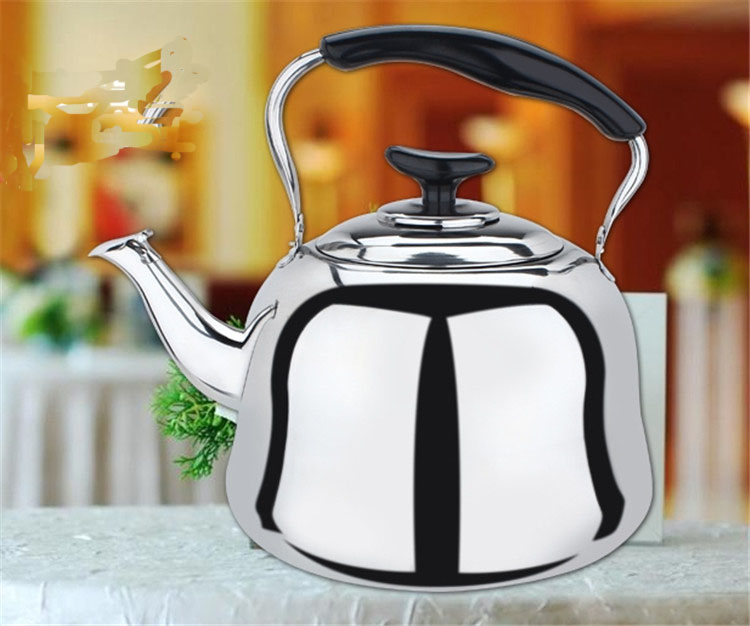 New Arrive Stainless Steel High Qualiy 1L Water Kettle Gas Induction Cooker Both Use Kettle Free