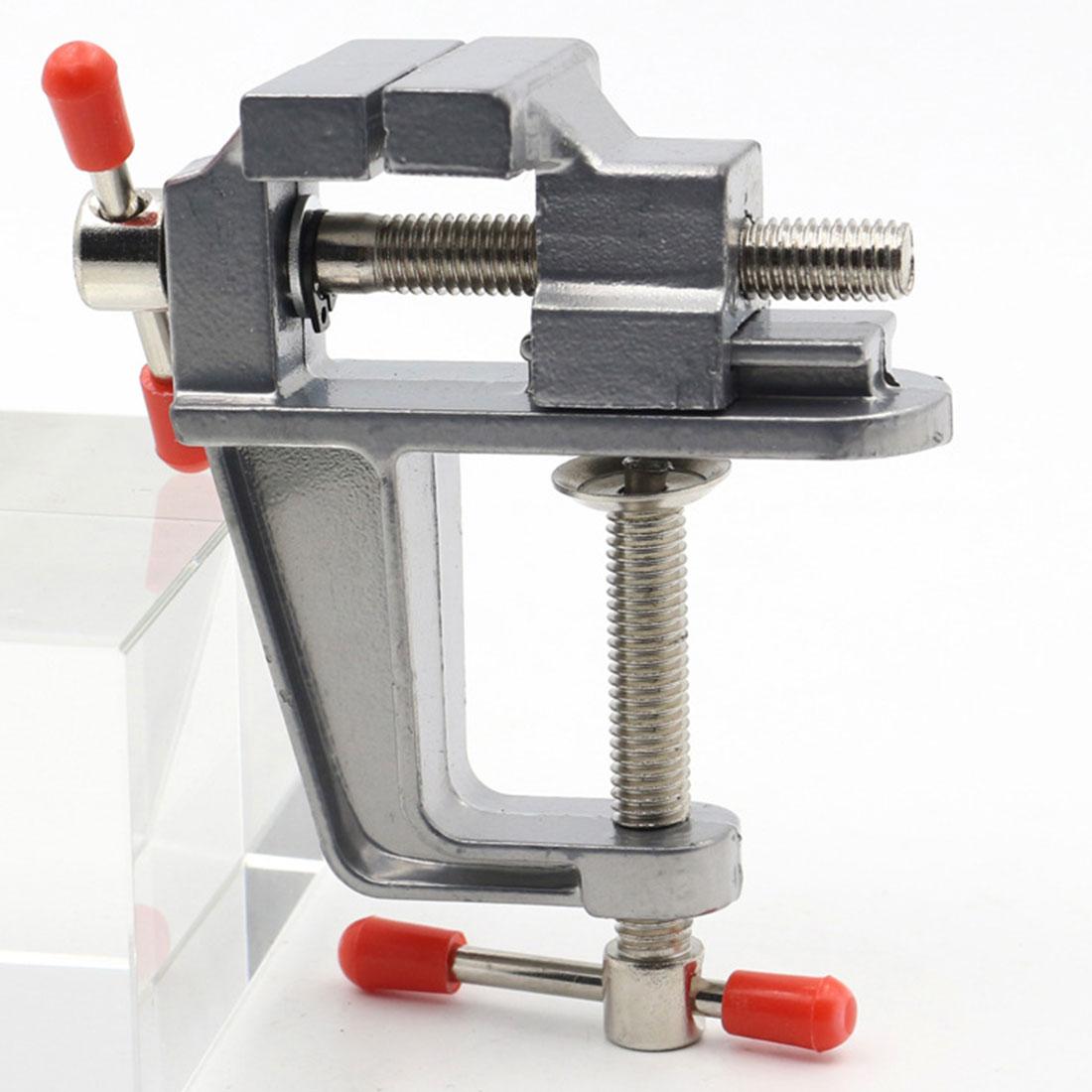 """Aletler'ten Mengene'de 3.5 """"alüminyum minyatür küçük kuyumcular hobi tabloda kelepçe tezgah mengenesi Mini aracı yardımcısı çok fonksiyonlu title="""