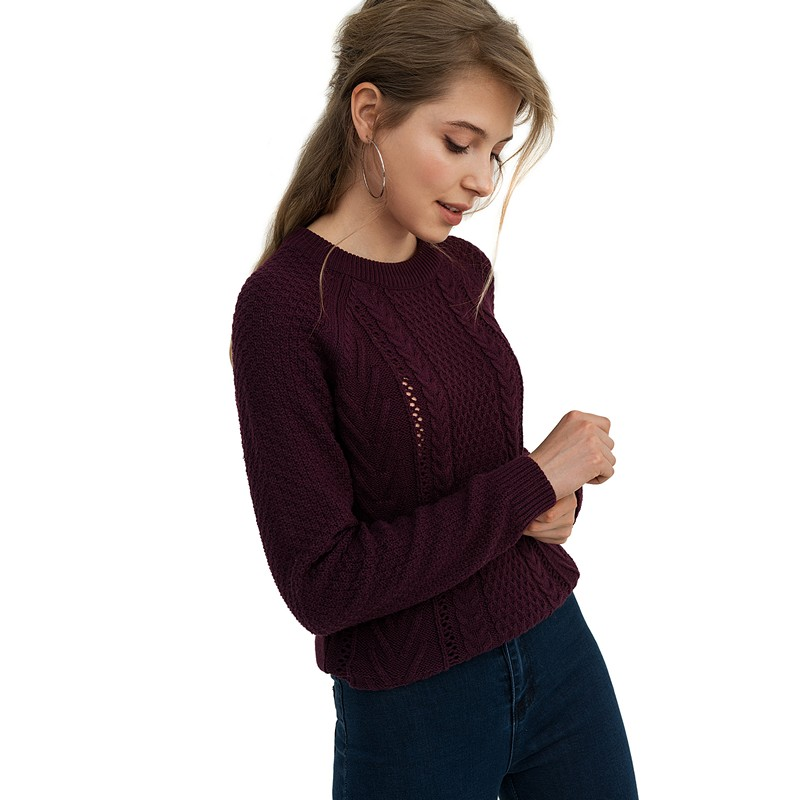 Sweaters befree 1831355871-83 jumper sweater pullover women clothes for female apparel TMallFS