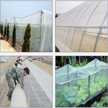 5m 100Mesh Pest Control Net Vegetable Fruit Plants Care Cover Greenhouse Protection Mosquito Aphids Pest Reject Netting