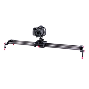 Carbon Fiber DSLR Camera Bearing Track Dolly Video Slider Rail System for Stabilizing Photograph Movie Film Making ashanks 80cm 6 bearings carbon fiber slider dslr camera dv track slide