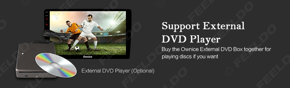 """Flash Deal FEELDO  10.1"""" Android 6.0 4-Core/DDR3 1G/16G/Support 4G Dongle Car Media Player With GPS/FM/AM RDS For Superb 2016 (Superb B8) 17"""