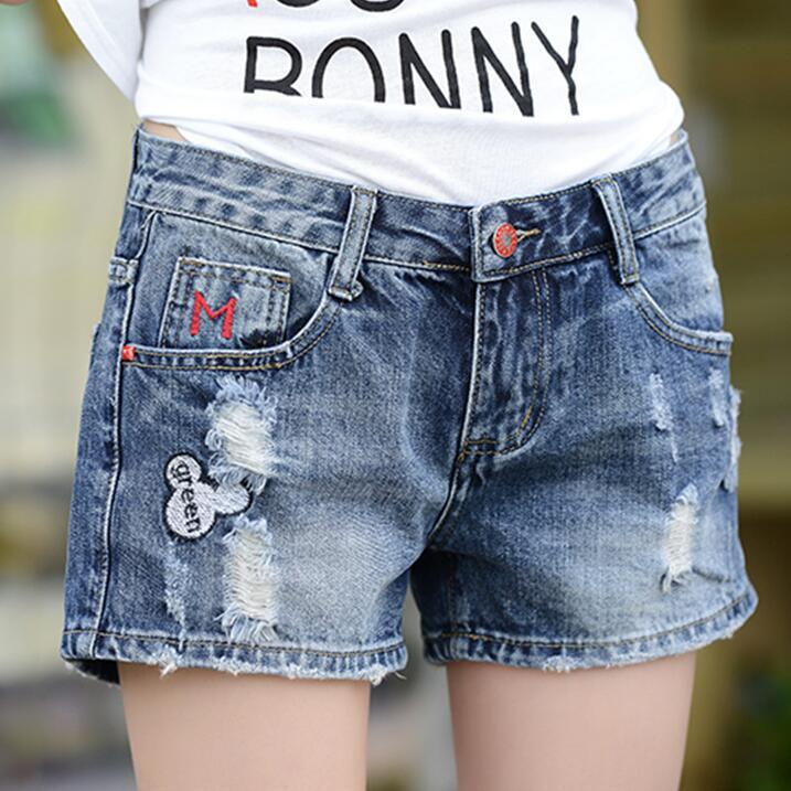 Patterned Denim Shorts Promotion-Shop for Promotional Patterned ...