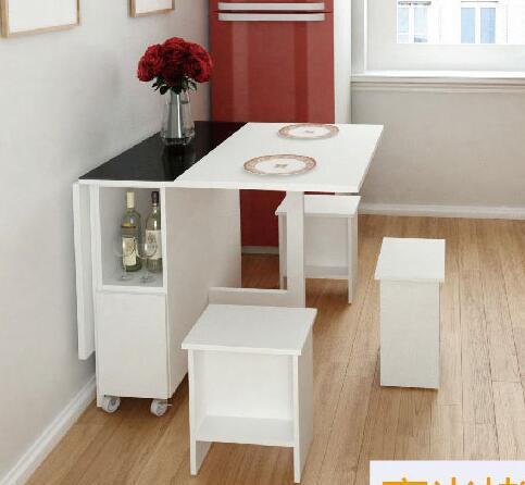 Mesa. La pared Mesa multifuncional mesa plegable. Escalable ...