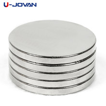 U-JOVAN 5pcs 30 x 3 mm N35 Super Strong Round Neodymium Magnets 30*3 Rare Earth Powerful Magnet(China)